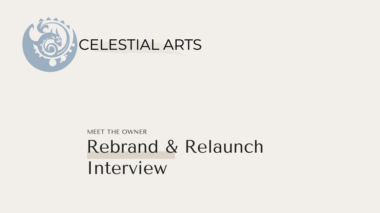 Relaunch & Rebrand Interview